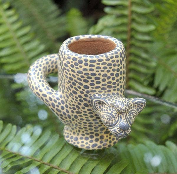 LUZ Collection - Ceramic Jaguar Shot Glasses
