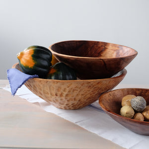 "Sobremesa by Greenheart - 14"" Wood Bowl"