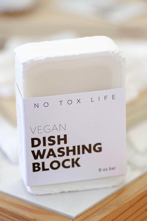 No Tox Life-Vegan Dish Block-Solid Dishwashing Soap