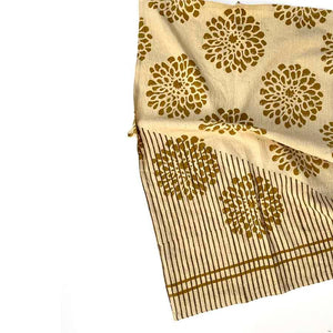 Ichcha - Golden Flower TEA TOWEL