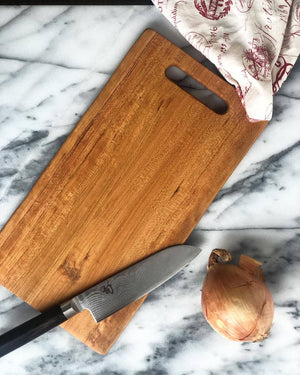 Freeform Cherry Wood Cutting Board