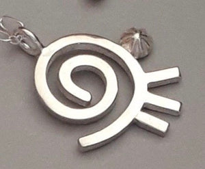 Sterling Silver Necklaces with Hopi Designs