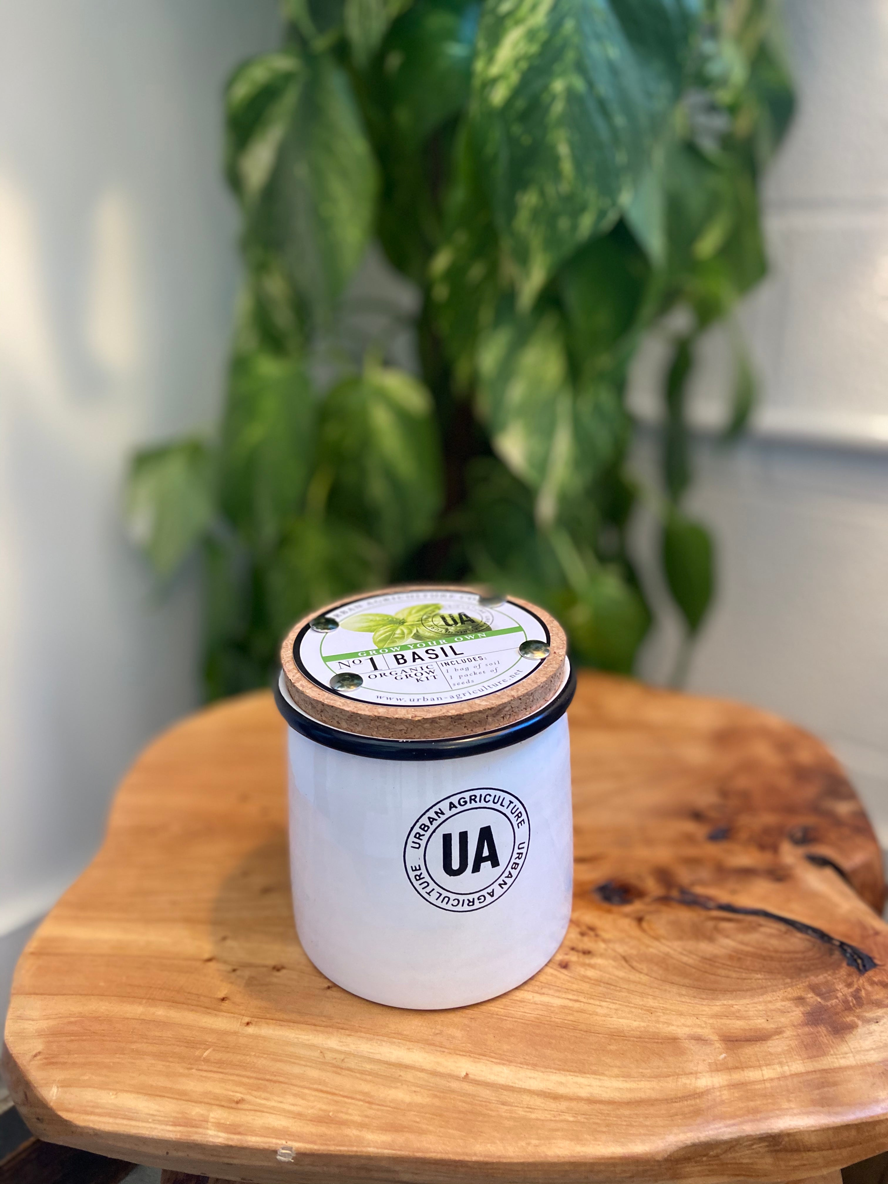 The Urban Agriculture Company - Enamel Herb Grow Kit