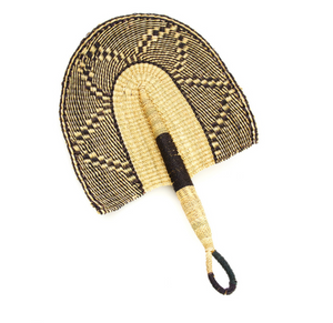 Dusk to Dawn Veta Vera African Hand Fan