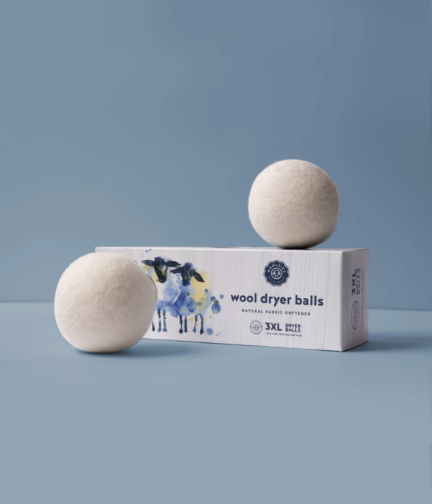 Wool Dryer Balls- Set of 3