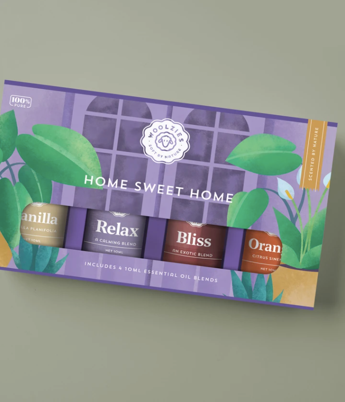 The Home Sweet Essential Oil Collection