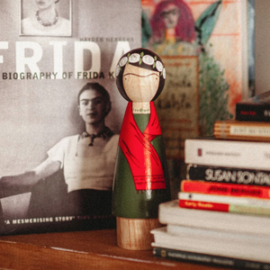 Frida Wooden Doll
