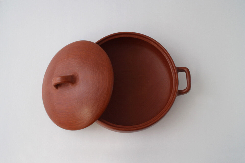 Arrocera Macedonia Cooking Pot made by hand in Oaxaca Mexico
