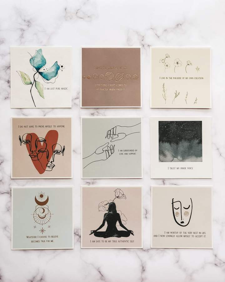 Be You Affirmation Cards