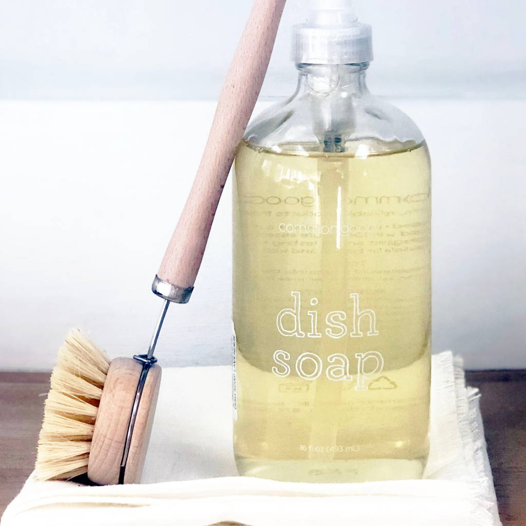 Common Good-Bergamot Dish Soap 16oz.