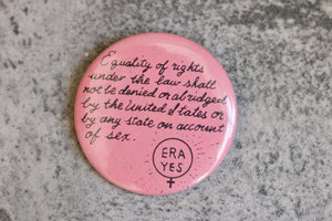 Vintage ERA Yes Pin