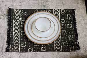 Black African Placemats (Set of 2)