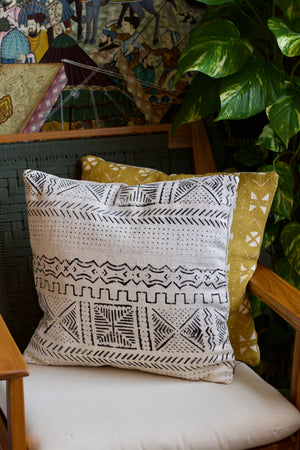 Moroccan Mudcloth Pillowcase