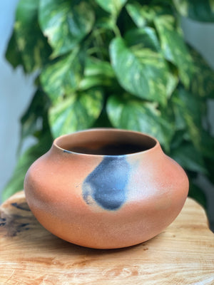 Angie Yazzie Micaceous Clay Vase