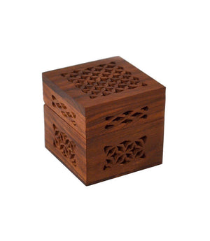 Small Cutwork Wood Box