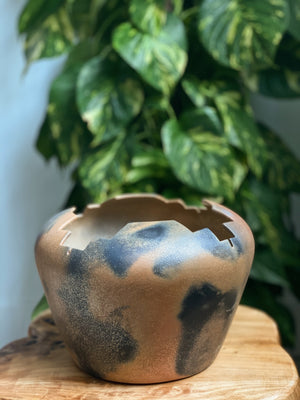 Angie Yazzie Micaceous Clay Prayer Bowl