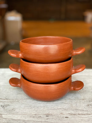 Paulino bowl made by hand in Oaxaca Mexico