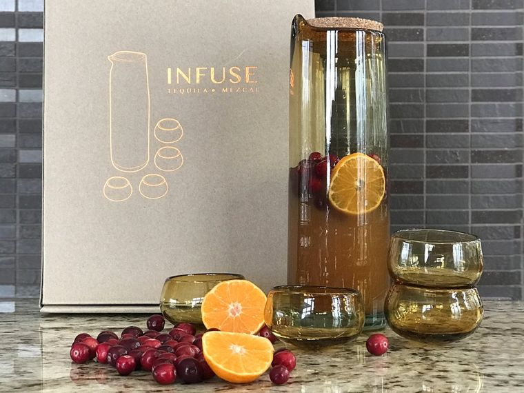 INFUSE - Mezcal & Tequila Infusion & Tasting Kit