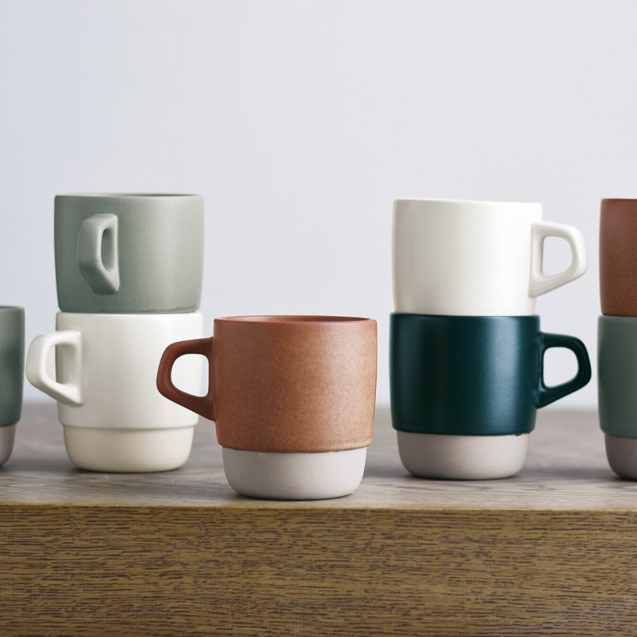 Kinto SCS Stacking Mugs