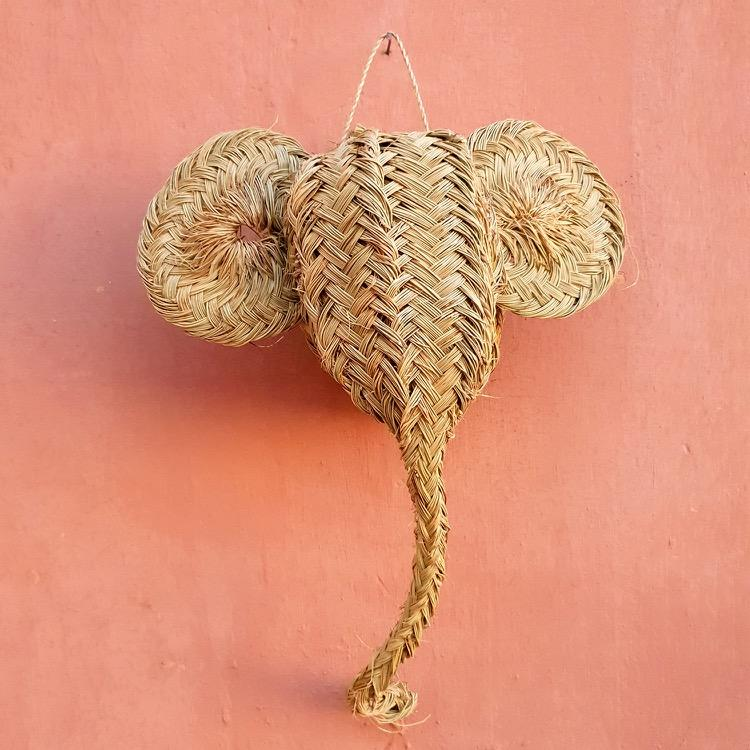 Moroccan Palm Animal Heads