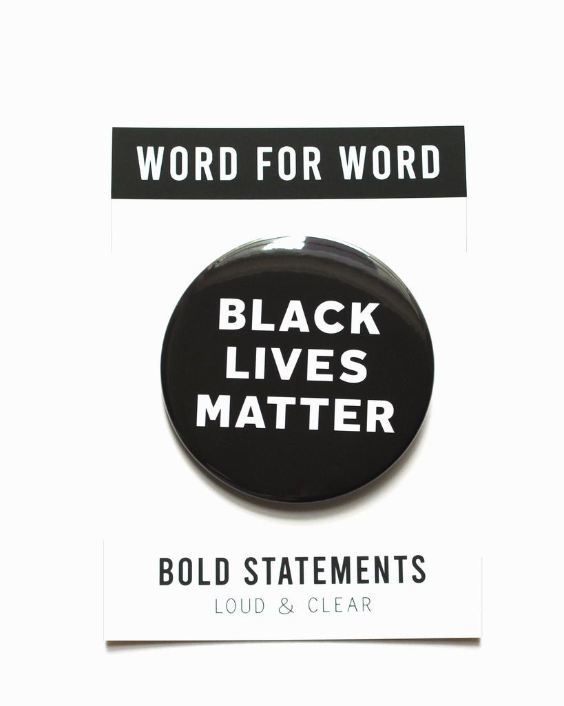 BLACK LIVES MATTER - Social Alert Button