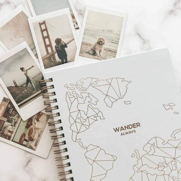 Wander Always: Travel Planner & Journal