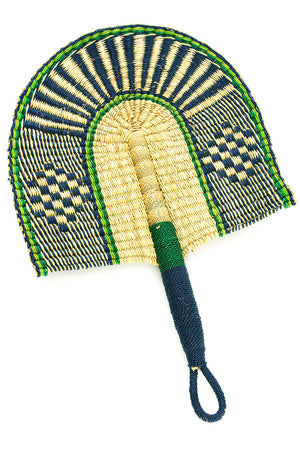 Deep Sea Veta Vera African Hand Fan