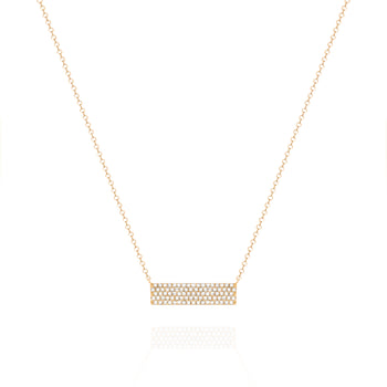 Yellow Bar Necklace