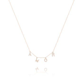 AMOR Diamond Necklace