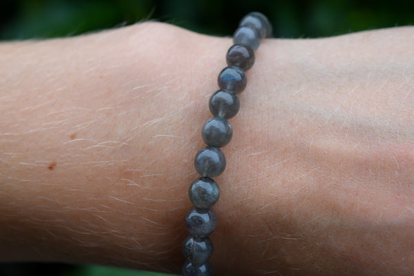 Labradorite Beads Bracelet 6mm