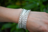 925 Silver Intertwined Heavy Bracelet