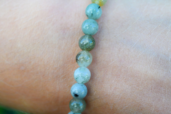 Jadeite Beads Bracelet 6mm
