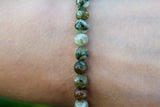 Rhyolith Beads Bracelet 6mm