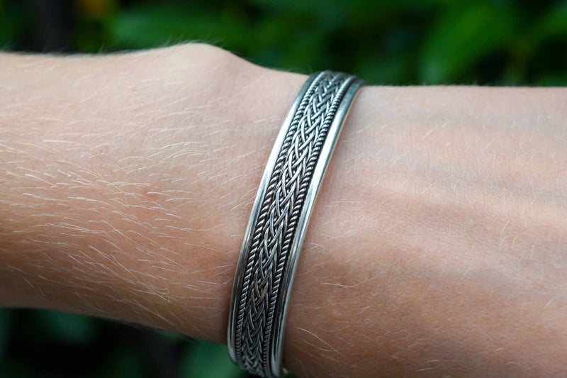 925 Silver Decorated Bracelet