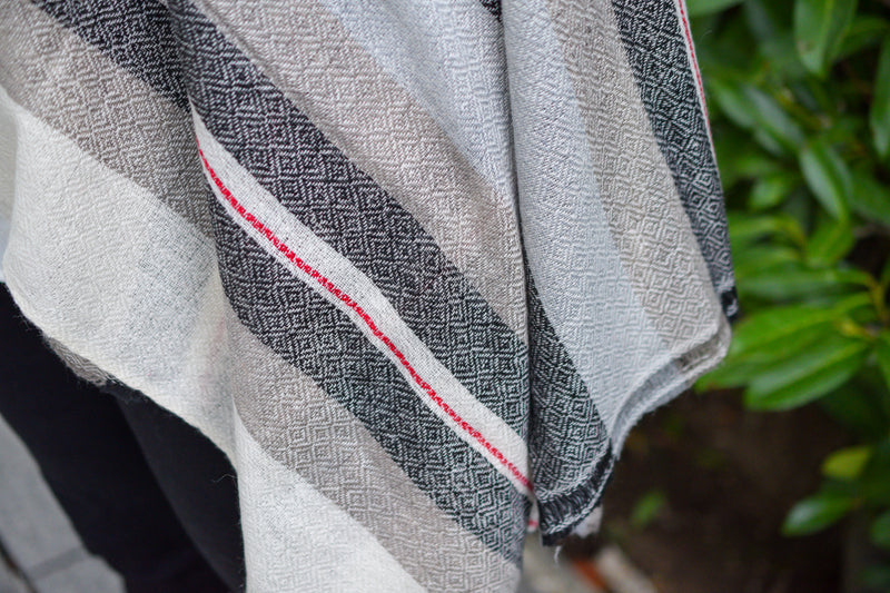 Multicoloured Cashmere Shawl