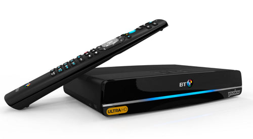 BT Ultra HD youview box recorder dtr-t4000 500gb uhd 1tb hd recordable TV humax twin freeview 7 day catch up