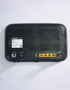 bt smart hub 2 wireless dual band fttp fttc router check settings in the manual rear