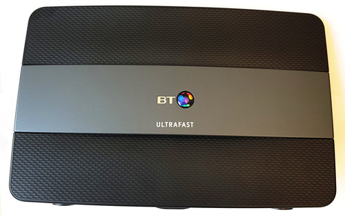 BT UltraFast Smart Hub dual band wifi wireless router for use with BT UltraFast G.Fast service
