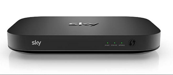 SKY Q Hub Wireless router for broadband connection