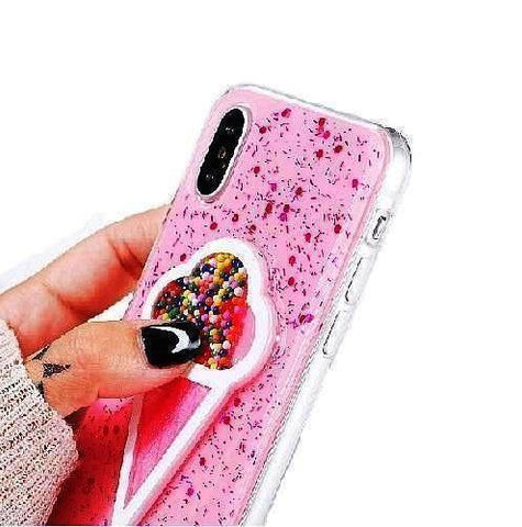 3D Ice cream Case for Apple iPhone
