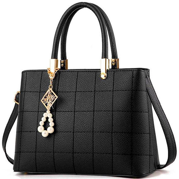 Luxury  leather shoulder handbags