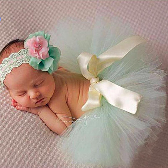 Tutu with Headband for Baby