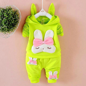 Rabbit Hoodie Outfit for Babies