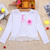 Cotton Polyester Sweater for Girls