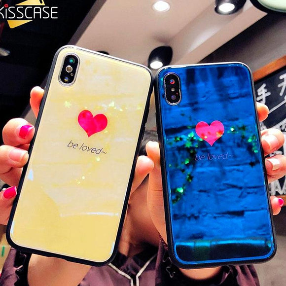 Love Heart Case iPhone X  6 7 8 Plus