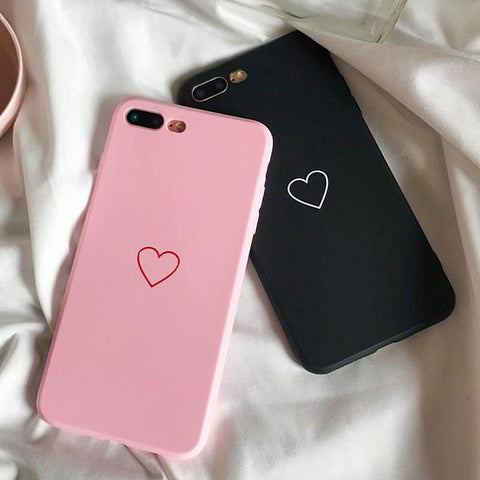 Fashion Love Case  iPhone X  6 8 7 Plus