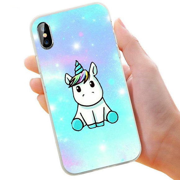 Cute Unicorn Apple iPhone Case
