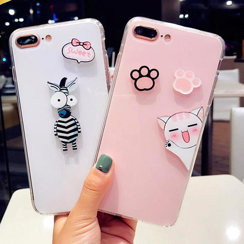Cute Case  iPhone 6 6s 7 8 plus  X