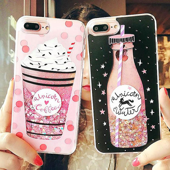 Cute Ice Cream Cases iPhone X  7 8 Plus 6 6S