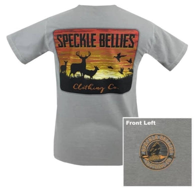 Speckle Bellies sunset large